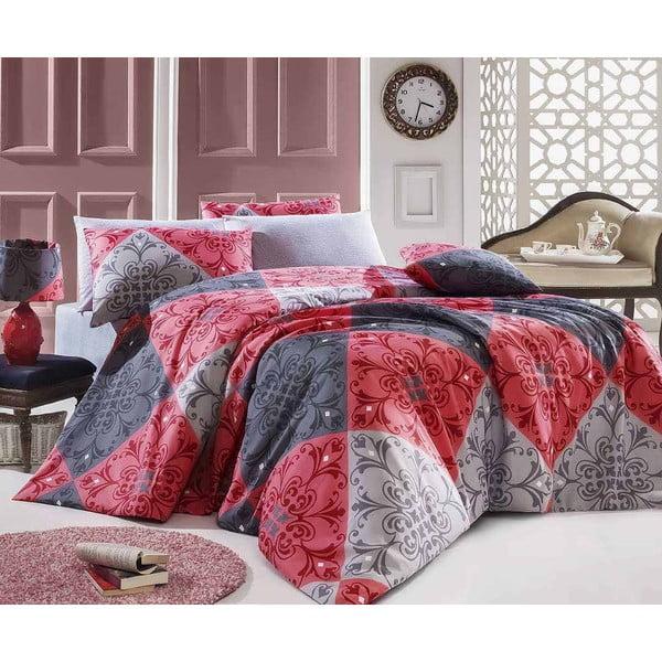 Obliečky s plachtou Destan Red, 160x220 cm