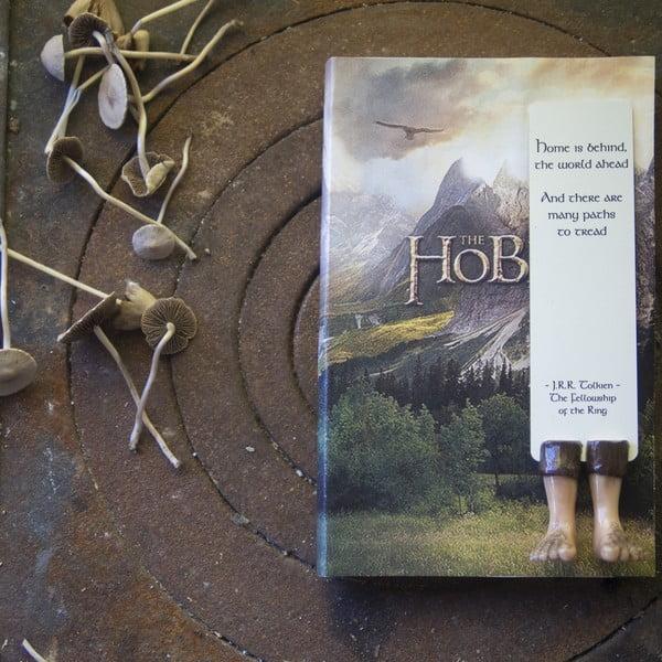 Záložka Creative Gifts Hobbit Feet