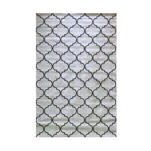Sivý vysokoodolný koberec Floorita Trellis Grey, 194 x 290 cm