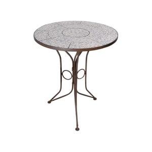 Guľatý stolík s keramickou doskou Ego Dekor