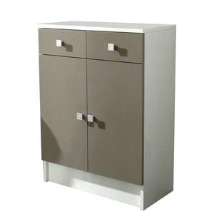 Béžová kúpeľňová skrinka 13Casa Click
