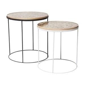Sada 2 odkladacích stolíkov Kare Design Ciocco