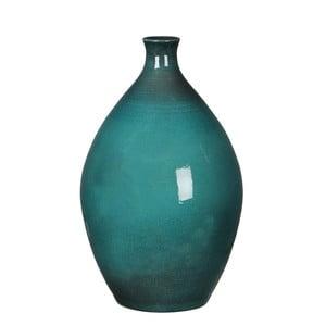 Zelená váza Mica Mary, 33x20 cm
