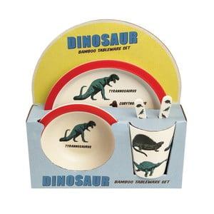Sada detského riadu s dinosaurami Rex London, 5 ks