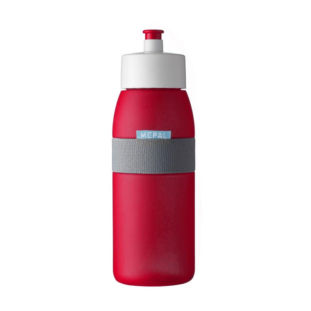 Červená fľaša na šport Rosti Mepal Ellipse, 500 ml
