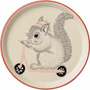 Detský kameninový tanier Bloomingville Mollie, ⌀ 20 cm