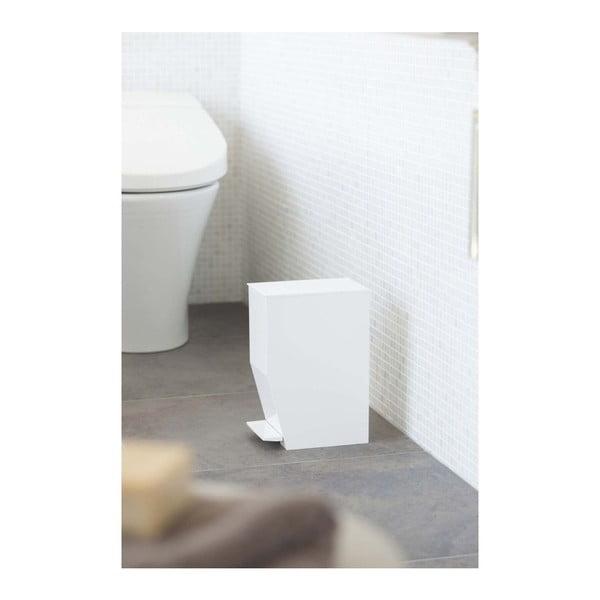 Biely odpadkový kôš do kúpeľne YAMAZAKI