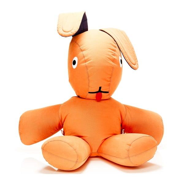 Fatboy dvojmetrový zajac na váľanie sa, oranžový