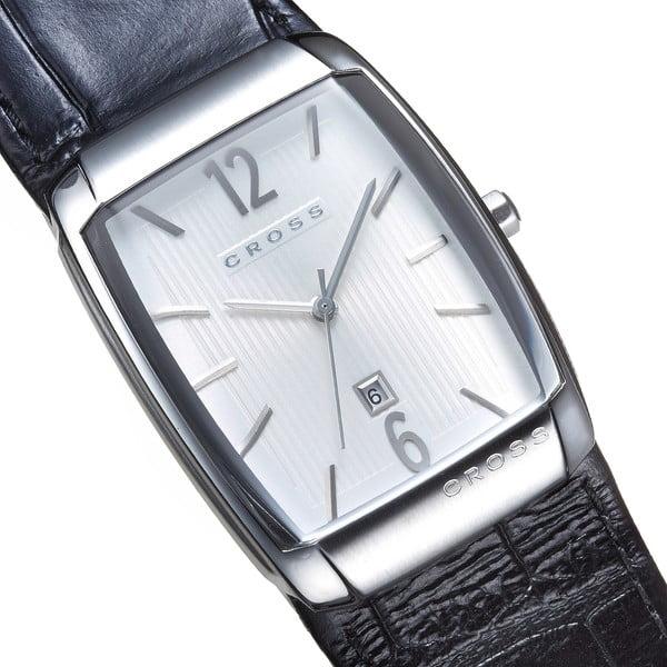 Pánske hodinky Cross Arial Barrel Silver White, 32.5 mm