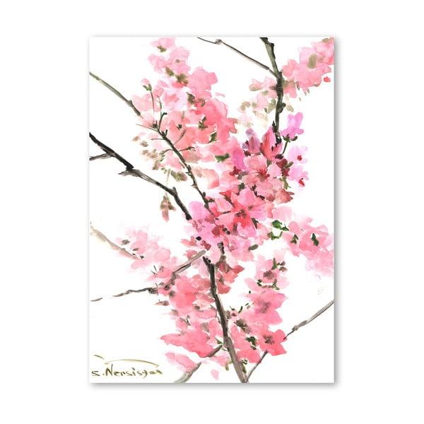 Plagát Flowers Pink od Suren Nersisyan