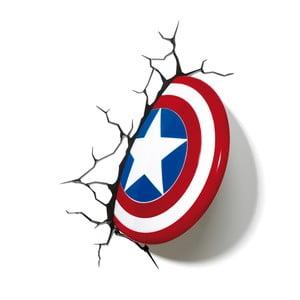 Nástenné svetlo s nálepkou Captain America