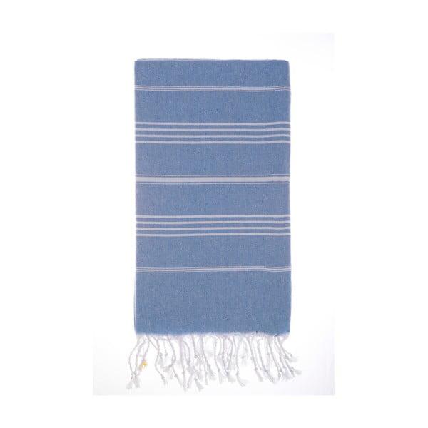 Hamam osuška Cesme Blue, 100x180 cm