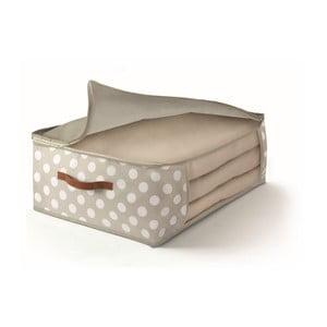 Béžový úložný box na prikrývky Cosatto Jolie, 45×45cm
