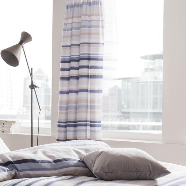 Závěs Knitted Stripe, 168x183 cm
