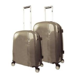 Set 2 cestovných kufrov Victorio Champagne