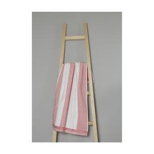 Ružovo-biely bavlnený uterák My Home Plus Spa, 50×90 cm