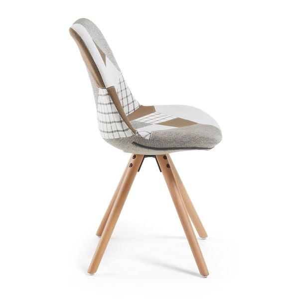 Jedálenská stolička La Forma Lars Patchwork