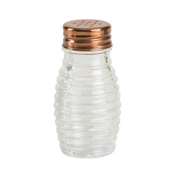 Sklenená soľnička/korenička T&G Woodware Beehive, 80 ml