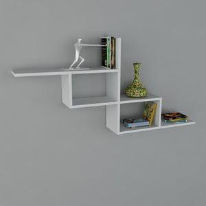 Polica Motif Book White, 22x144,6x71,4 cm