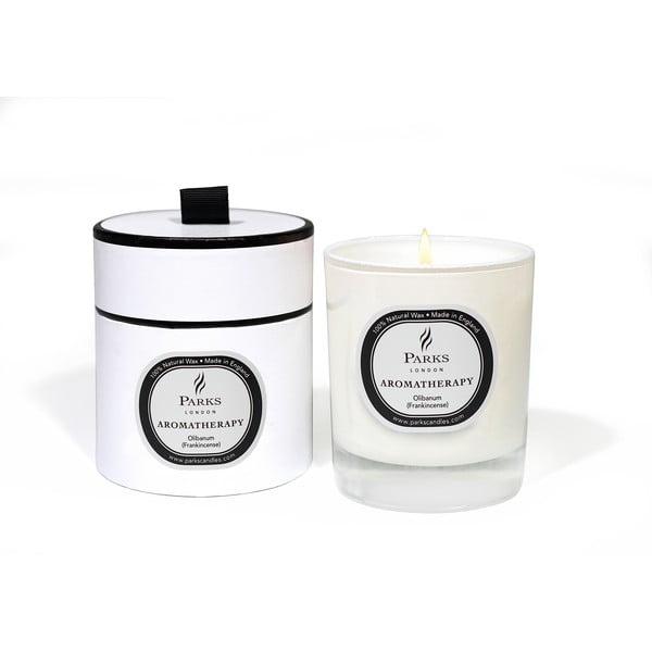 Sviečka s vôňou kadidla Parks Candles London Aromatherapy, 50hodín horenia