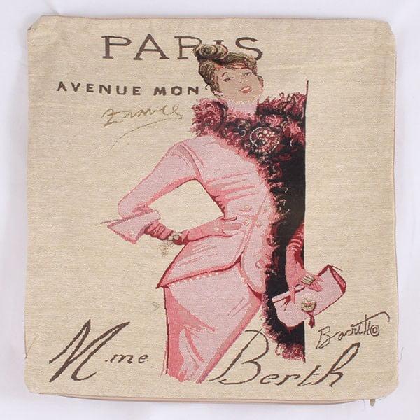 Obliečka na vankúš Paris Avenue, 45x45 cm