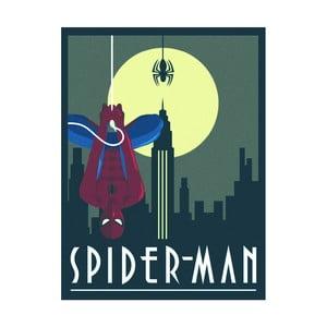 Obraz Pyramid International Marvel Deco Spiderman, 60 × 80 cm