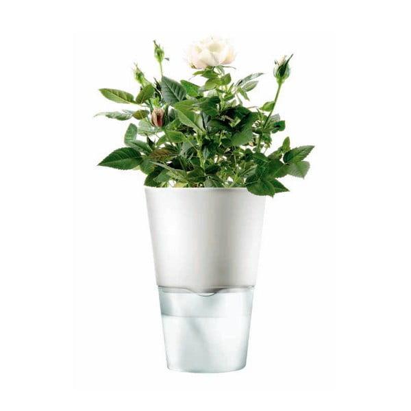Samopodlievací kvetináč na bylinky Eva Solo White, 11 cm
