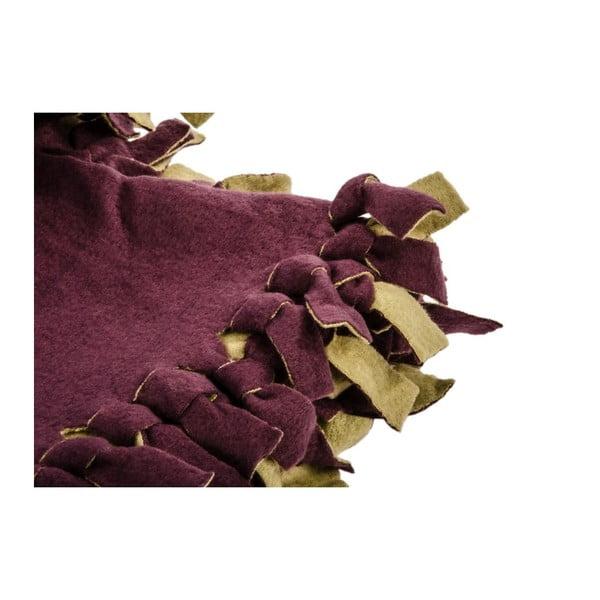 Prehoz Town Double Violet, 180x220 cm