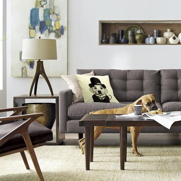 Vankúš Charles Dog, 45x45 cm