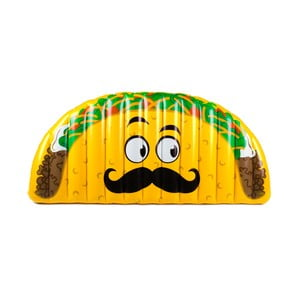 Nafukovací matrac v tvare taco Big Mouth Inc.
