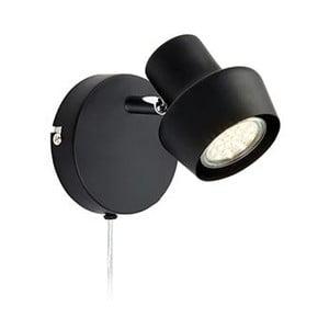 Čierna nástenná lampa Markslöjd Urn