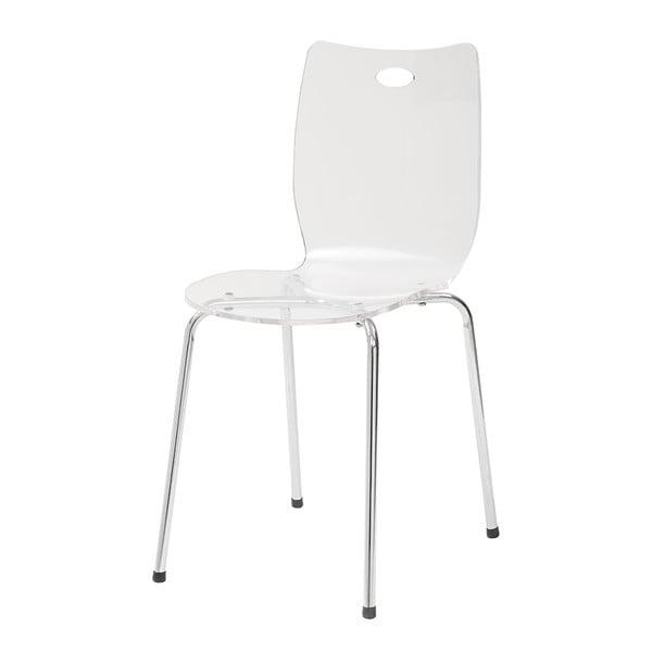 Jedálenská stolička Terry, biela