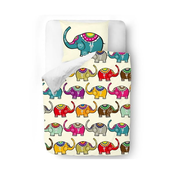 Obliečky Blue Elephants, 140x200 cm