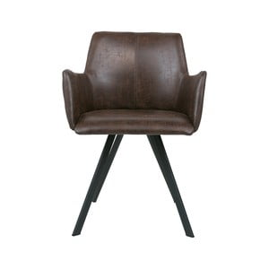 Hnedá jedálenská stolička Canett Amigo