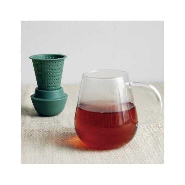 Hnedá kanvica na čaj Kinto Pengy, 720ml