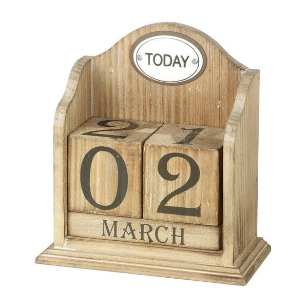 Drevený stolový kalendár Perpetual