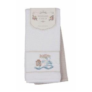 Sada 2 bavlnených uterákov Madame Coco Posh, 40 x 60 cm