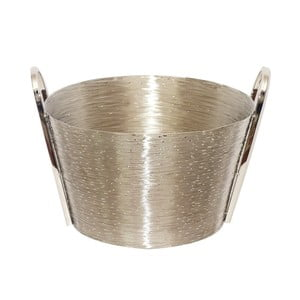Košík z nehrdzavejúcej ocele Herkules, 37 cm