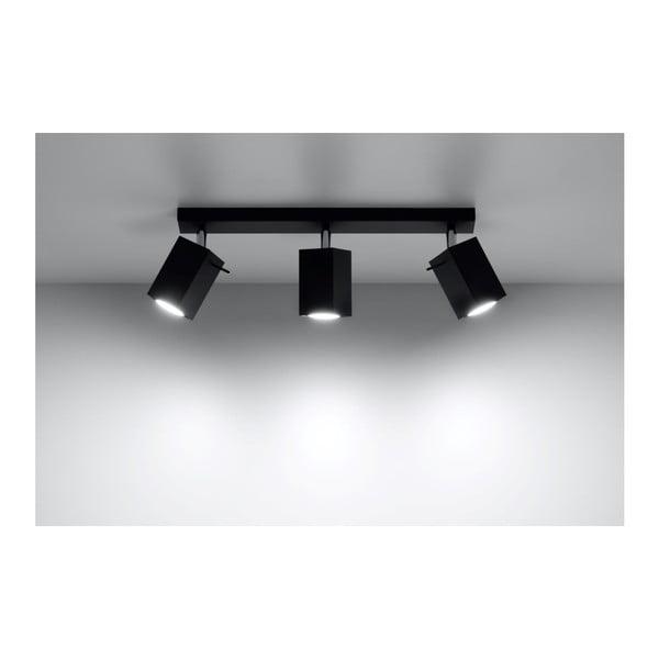Čierne stropné svetlo Nice Lamps Toscana