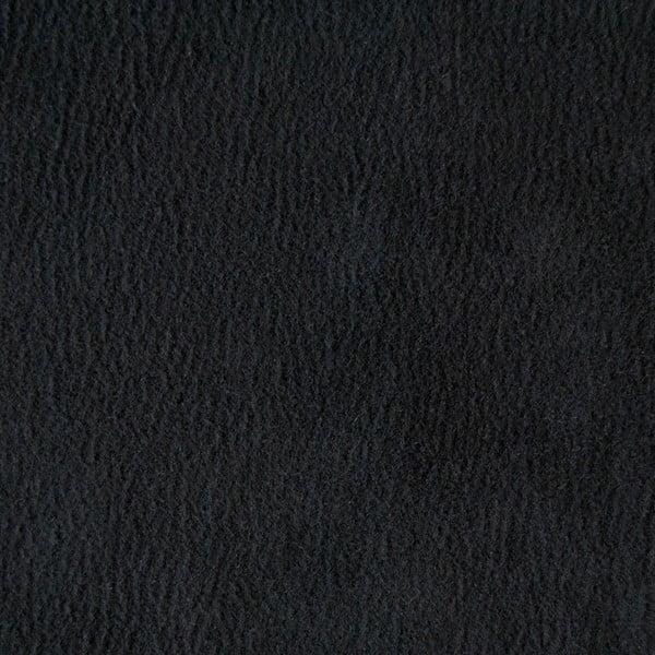 Kreslo Miura Munich, čierny semišový poťah