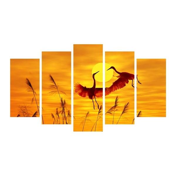 Viacdielny obraz Insigne Huntago, 102 × 60 cm