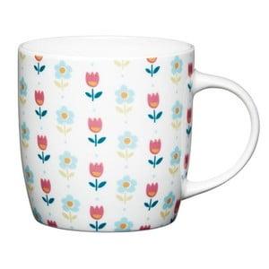 Porcelánový hrnček Shaped Folky Floral, 425 ml