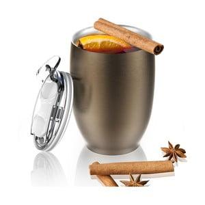 Termohrnček z nehrdzavejúcej ocele Imperial Beverage, hnedý