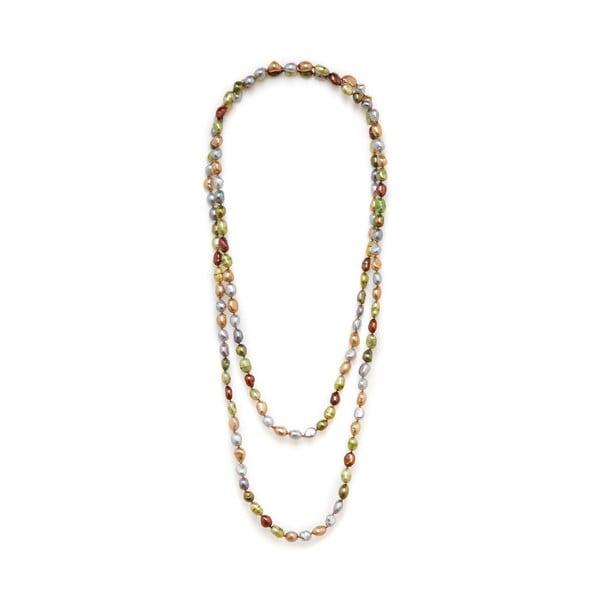 Náhrdelník z riečnych perál Baroque 120 cm, farebný