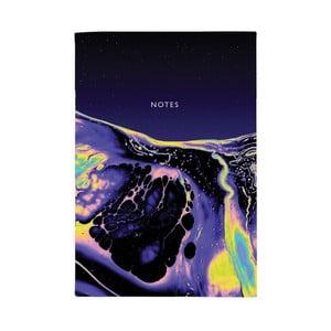 Zápisník Ohh Deer Purple Deep, 44 strán