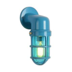 Modré nástenné svietidlo Miloo Home Factory