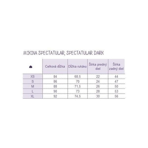Mikina Spectacular Dark, veľkosť S