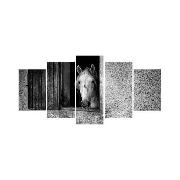 Viacdielny obraz Black&White no. 19, 100x50 cm