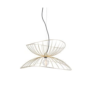 Závesné svietidlo vo farbe mosadze Globen Lighting Ray, ø 70 cm