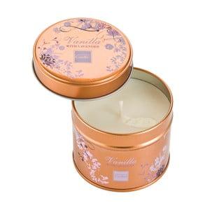 Aromatická sviečka v plechovke s vôňou levandule a vanilky Copenhagen Candles, doba horenia 32 hodín